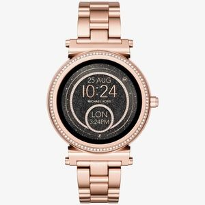Michael Kors Unisex Rose Gold Smart Watch MKT5022